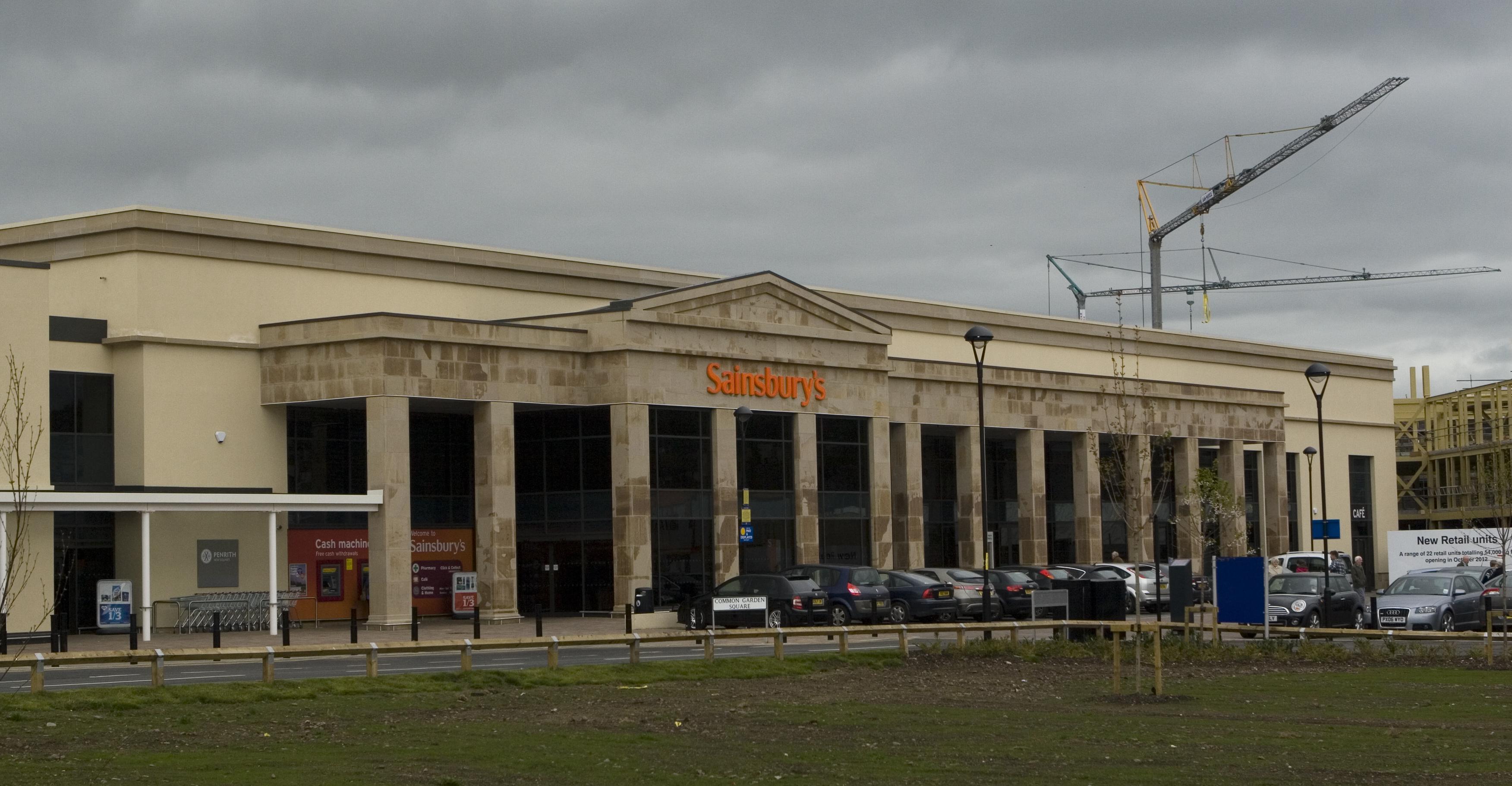 Grc Civic >> Sainsbury's Penrith | GRC - Glassfibre Reinforced Concrete