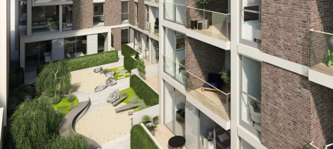 Bedford House, Balham High Road the latest project supplied by BCM GRC